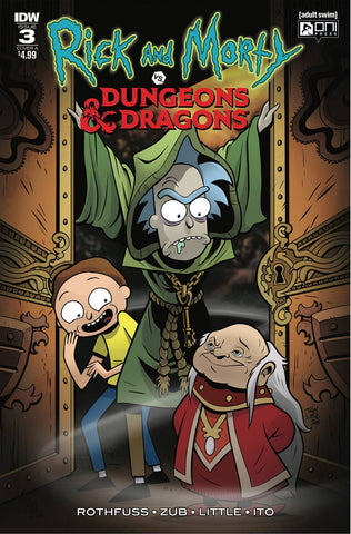 RICK & MORTY VS DUNGEONS & DRAGONS #3 (OF 4) CVR A LITTLE (N