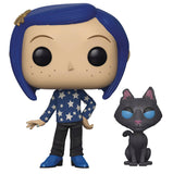 POP MOVIES CORALINE WITH CAT VINYL FIGURE