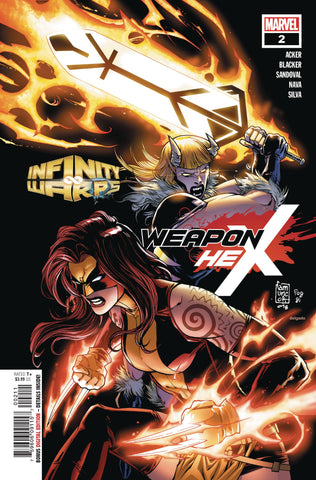 INFINITY WARS WEAPON HEX #2 (OF 2)