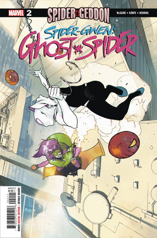 SPIDER-GWEN GHOST SPIDER #2 - Packrat Comics