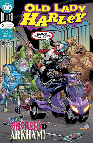 OLD LADY HARLEY #2 (OF 5) - Packrat Comics