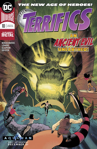 TERRIFICS #10 - Packrat Comics