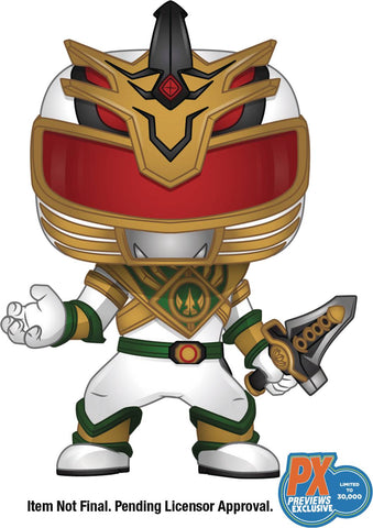 POP POWER RANGERS LORD DRAKKON PX VINYL FIGURE