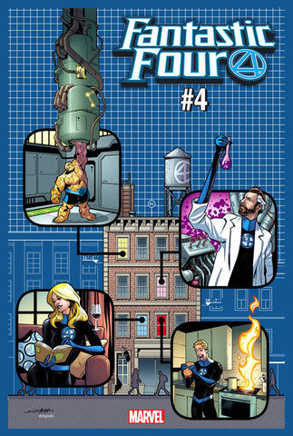 FANTASTIC FOUR #4 YANCY STREET VAR