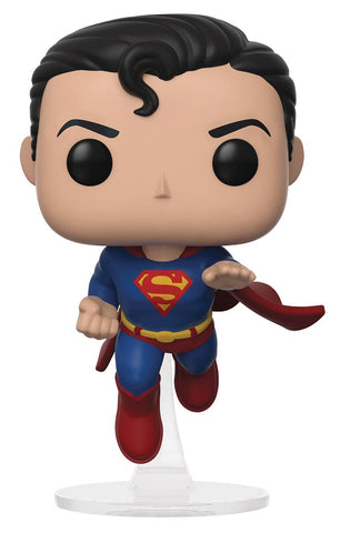 POP SPECIALTY SERIES FLYING SUPERMAN 80TH ANNIV VIN FIG