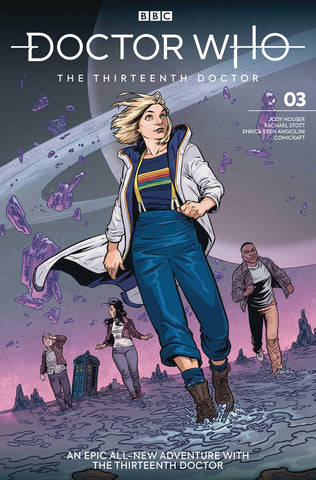 DOCTOR WHO 13TH #3 CVR A ISAACS - Packrat Comics