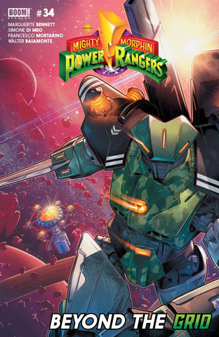 MIGHTY MORPHIN POWER RANGERS #34 MAIN - Packrat Comics