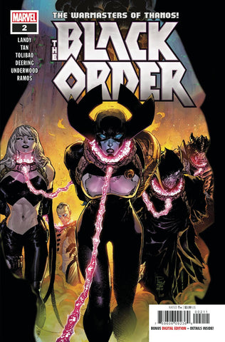 BLACK ORDER #2 (OF 5) - Packrat Comics