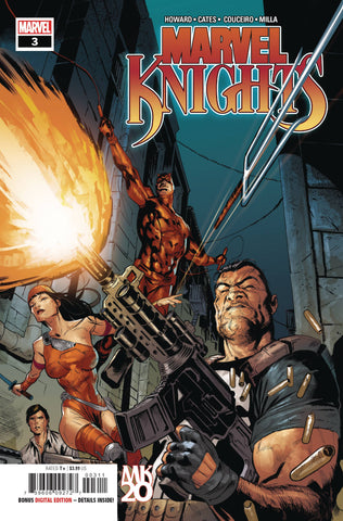 MARVEL KNIGHTS 20TH #3 (OF 6) - Packrat Comics