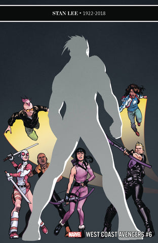 WEST COAST AVENGERS #6 - Packrat Comics