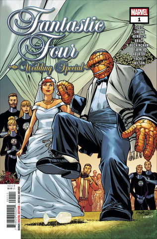 FANTASTIC FOUR WEDDING SPECIAL - Packrat Comics