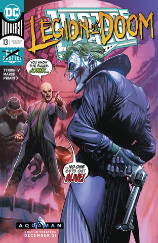 JUSTICE LEAGUE #13 - Packrat Comics