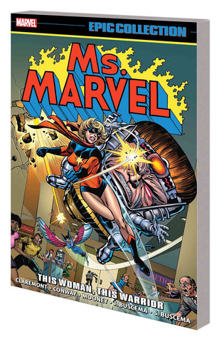 MS MARVEL EPIC COLLECTION TP WOMAN WARRIOR - Packrat Comics