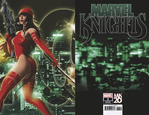 MARVEL KNIGHTS 20TH #3 (OF 6) ANDREWS CONNECTING VAR - Packrat Comics