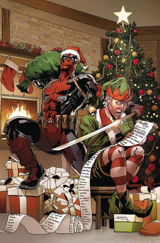DEADPOOL #7 SLINEY VAR