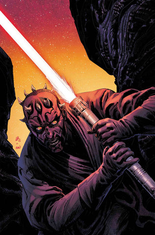 STAR WARS AGE REPUBLIC DARTH MAUL #1 LUKE ROSS VAR