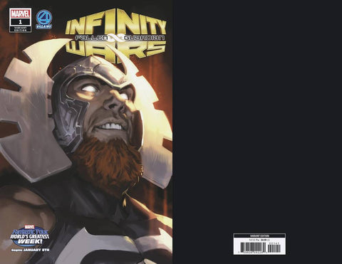 INFINITY WARS FALLEN GUARDIAN #1 DJURDJEVIC FF VILLAINS VAR - Packrat Comics