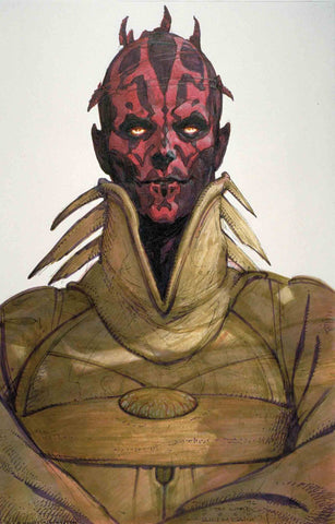 STAR WARS AGE REPUBLIC DARTH MAUL #1 MCCAIG DESIGN VAR - Packrat Comics
