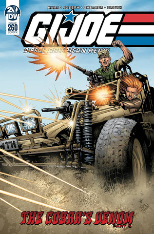 GI JOE A REAL AMERICAN HERO #260 CVR A JOSEPH