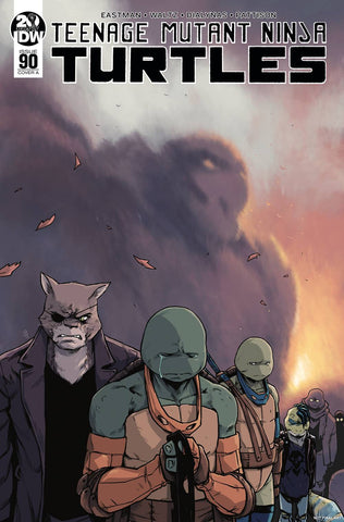 TMNT ONGOING #90 CVR A DIALYNAS - Packrat Comics