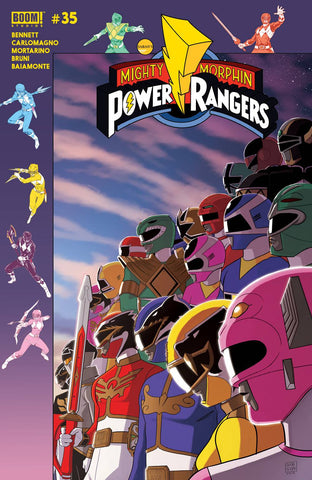 MIGHTY MORPHIN POWER RANGERS #35 PREORDER GIBSON VAR