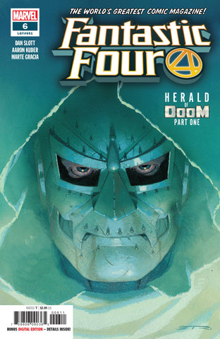 FANTASTIC FOUR #6 - Packrat Comics