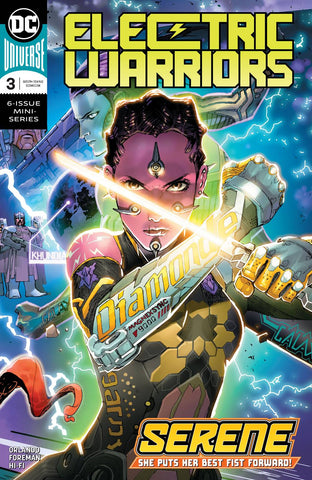 ELECTRIC WARRIORS #3 (OF 6) - Packrat Comics
