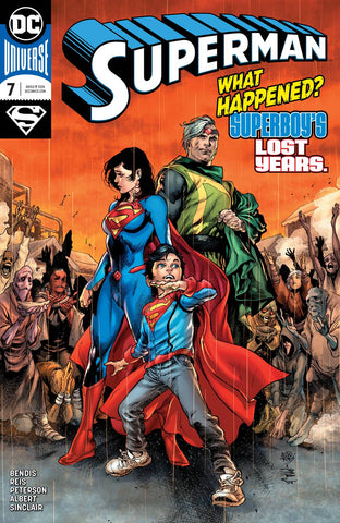 SUPERMAN #7 - Packrat Comics