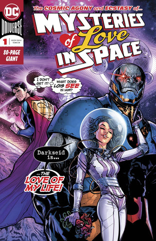 MYSTERIES OF LOVE IN SPACE #1 - Packrat Comics