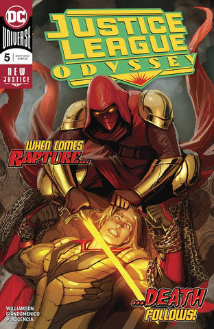 JUSTICE LEAGUE ODYSSEY #5 - Packrat Comics