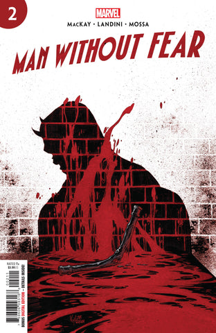 MAN WITHOUT FEAR #2 - Packrat Comics