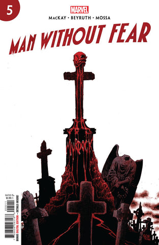MAN WITHOUT FEAR #5 - Packrat Comics