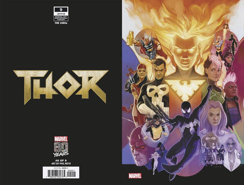 THOR #9 NOTO MARVEL 80TH VAR - Packrat Comics