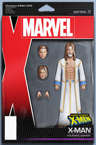 UNCANNY X-MEN #10 CHRISTOPHER ACTION FIGURE VAR - Packrat Comics