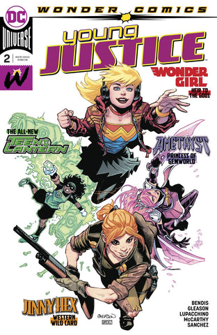 YOUNG JUSTICE #2 - Packrat Comics