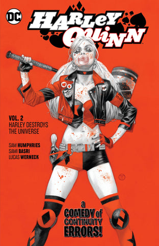 HARLEY QUINN TP VOL 02 HARLEY DESTROYS THE UNIVERSE - Packrat Comics