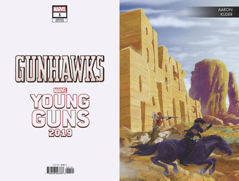 GUNHAWKS #1 KUDER YOUNG GUNS VAR - Packrat Comics