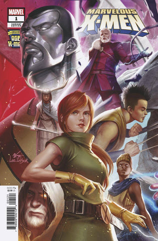 AGE OF X-MAN MARVELOUS X-MEN #1 (OF 5) INHYUK LEE CONNECTING - Packrat Comics