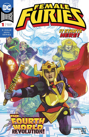 FEMALE FURIES #1 (OF 6) - Packrat Comics
