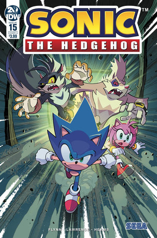 SONIC THE HEDGEHOG #15 CVR A LAWRENCE (C: 1-0-0) - Packrat Comics