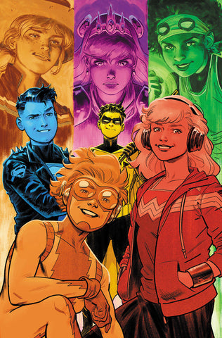YOUNG JUSTICE #3 VAR ED