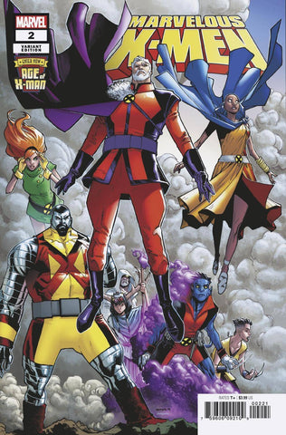 AGE OF X-MAN MARVELOUS X-MEN #2 (OF 5) RAMOS VAR - Packrat Comics