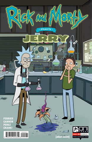 RICK & MORTY PRESENTS JERRY #1 CVR B GRACE - Packrat Comics
