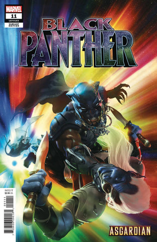 BLACK PANTHER #11 RAHZZAH ASGARDIAN VAR