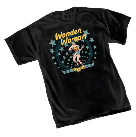 WONDER WOMAN VINTAGE T/S - Packrat Comics