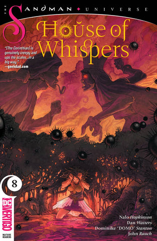 HOUSE OF WHISPERS #8 (MR) - Packrat Comics