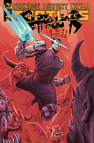 TMNT SHREDDER IN HELL #4 10 COPY INCV COSTA - Packrat Comics
