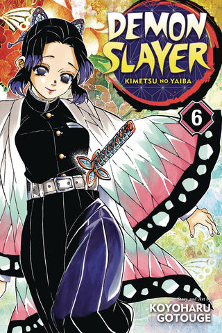DEMON SLAYER KIMETSU NO YAIBA GN VOL 06 - Packrat Comics