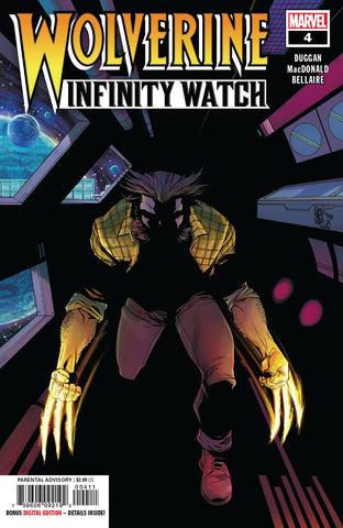 WOLVERINE INFINITY WATCH #4 (OF 5) - Packrat Comics