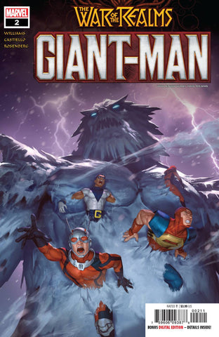 GIANT MAN #2 - Packrat Comics